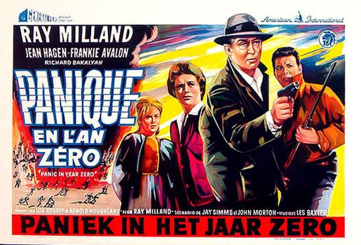 Panic in year zéro! (1962) affiche