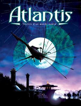 """Jaquette française du jeu vidéo """"Atlantis"""" de Cryo (1997)"""